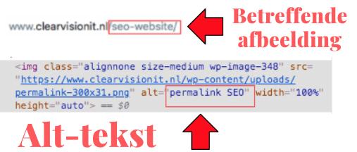 SEO website alt-tekst